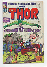 Journey Into Mystery with the Mighty Thor #115 Silver Age Marvel Comics Key FN+