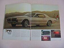 1967 Mercury Brochure, Long Version -Near Mint