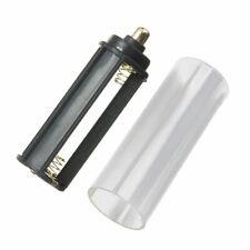 New 1PCS 18650 Battery Tube + 1PCS AAA Battery Holder for Flashlight Torch  U3R6