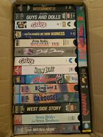 Lot of 16 Musicals VHS - West Side Story Grease Oklahoma That's Entertainment 3