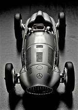 1 GP F Mercedes Race Car Indy 500 Vintage 24 Midget 12 Carousel Sl LVER 18 300 S