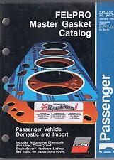 1993 FEL-PRO MASTER GASKET CATALOG-#900-93-PASSENGER VEHICLE DOMESTIC AND IMPORT