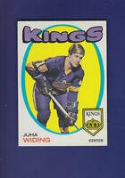 Juha Widing RC 1971-72 TOPPS Hockey #86 (EX+) Los Angeles Kings