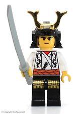 LEGO Ninja MiniFigure - Shogun, White  (Set 3346)