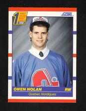 Owen Nolan Rookie Card--1990-91 Score--Quebec Nordiques