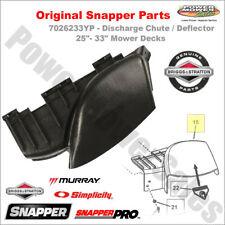 "7026233YP - 25""- 33"" Mower Deck Deflector/Discharge Chute ORIGINAL Snapper Part"
