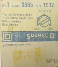 SQUARE D Thermal Overload Relay 32-39 Amp 9065 TE32