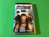 WWE SmackDown vs. Raw 2008 Featuring ECW For Sony PSP CASE & MANUAL ONLY NO GAME