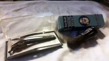 Vintage Schick Adjustable Band Blade Razor with Case & Brush