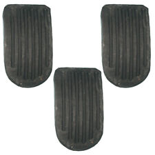 New Brake, Clutch, and Accelerator Pedal Pad Set of 3 Pads for Mgb 1968 - 1974