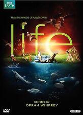 Life (DVD, 2010, 4-Disc Set) Narrated by Oprah Winfrey new