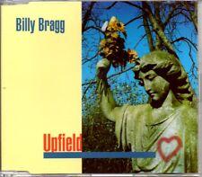 BILLY BRAGG - UPFIELD - 1996 3 TRACK CD SINGLE