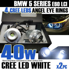 BMW E60 lci 40W CREE ANGEL EYES HALO RINGS LED MARKER for HALOGEN HEADLAMPS UK