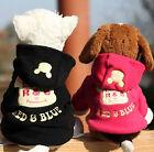 Dog Cute Cartoon Pet Clothes Dog Hoodie Warm Puppy Coat Cat Apparel Costume