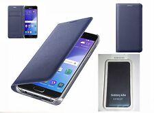 Original Samsung Galaxy A3 2016 Édition à rabat type portefeuille étui coque