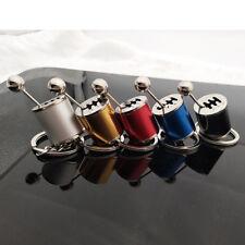 1pc Keychain Shifter Gear Box 6-Speed Gearshift Stick Metal Fidget Key Ring Gift