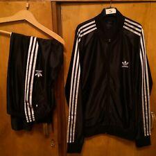 rare vintage Adidas track suit originals tracksuit Size L three stripes pants