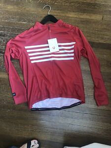 New-Old-Stock BONTRAGER Circuit Long Sleeved Jersey - Red XL ONLY