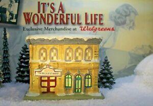 ENESCO IT'S A WONDERFUL LIFE VILLAGE - Bijou Theatre item 112999 with Box