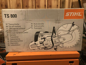Stihl TS 800 Cut-off Machine Saw