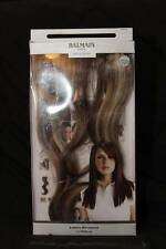 "BALMAIN Paris RUNWAY Hair Length EXTENSION New BAG-BOX Dark Sand 40cm/16"""
