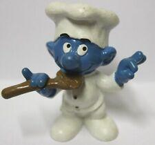 PUFFO PUFFI SMURF SMURFS SCHTROUMPF 2.0042 20042 Chef Smurf Puffo Cuoco 6A