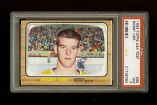1966 BOBBY ORR TOPPS ROOKIE RC #35 PSA 7 NM **RARE USA TEST VERSION**