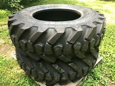 2 NEW 15.5-25 Galaxy MPC Loader L2/G2 Tires - 15.5X25 - 12 PLY - 154 pound tire