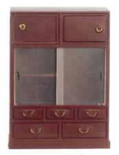 Dolls House 1:24 Scale Miniature Furniture Dresser Cabinet Magnetic