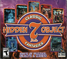 RIDDLES OF THE PAST + AMULET OF DREAMS Hidden Object 7 PACK PC Game NEW