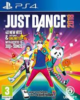 Just Dance 2018 Playstation 4 PS4 **FREE UK POSTAGE!!**