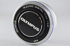 [Exc⁺⁺] OLYMPUS M.ZUIKO Digital 17mm F/2.8 Silver Lens For Micro Four Thirds