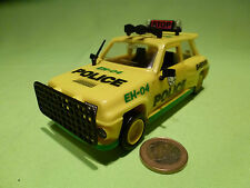PLASTIC  1:32? RENAULT 5 TURBO - SHERIFF POLICE -  RARE SELTEN -  MINT CONDITION