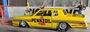 1985 Pennzoil Monte Carlo Drag NHRA 1/24 die cast New