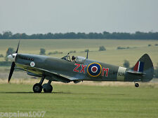 "Model Airplane Plans (UC): Spitfire VIII 53½"" Stunt for 5-6cc by Gordon Pentland"