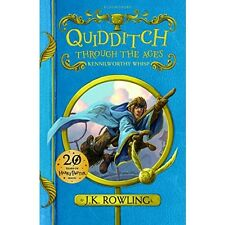 Quidditch Through the Ages Harry Potter Rowling Hogwarts Gift Rules Game Book