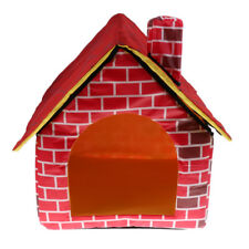 Brand New Pet House Dog Cat Portable Indoor Warm Bed Dog Supplies Dog Houses