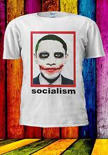 Obama As Joker Parody Socialism T-shirt Vest Tank Top Men Women Unisex 553