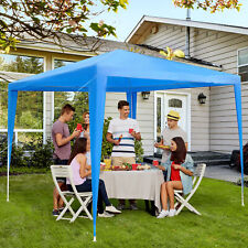Outsunny 2.7m X 2.7m Party Canopy - Blue