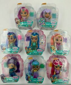 "Shimmer and Shine Doll 6"" Figure Zeta Leah Adara Farnaz Dragon Rider + Brand New"