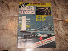 VINTAGE MAGAZINE SEA CLASSICS SEP 1982 DEATH Z FORCE SOVIET NAVY CCCP USS BATFIS