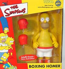 Simpsons Toyfare Mail-Away BOXING HOMER~ 2001 PLAYMATES~ MIB~ homer~ a