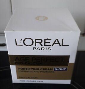 L'Oreal Paris Age Perfect Pro-Calcium  Fortifying Night Cream, 50ml