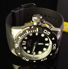 BAD BOY MEN INVICTA LARGE 51 MM DIAL PRO DIVER BLACK DIAL & BEZEL AND POLY BAND