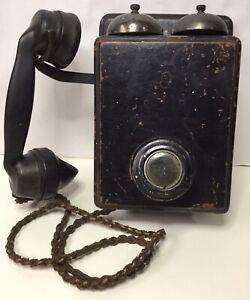 Vintage GPO Box Bell Telephone Mark 1 221 CB ENR 56 3535b
