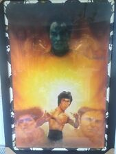 Bruce Lee Enter The Dragon Hand Painted