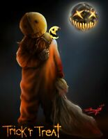 Sam - Trick 'r Treat - Digital freehand drawing - signed limited edition prints