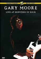 GARY MOORE Live At Monsters Of Rock DVD BRAND NEW PAL R4
