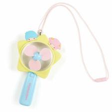 Little Twin Stars Kiki Lala handy fan Pink Sanrio Kawaii Cute 2020 NEW