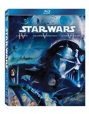 STAR WARS Trilogy Episode 4 5 6 Bluray New Hope Empire Strikes Back Return Jedi